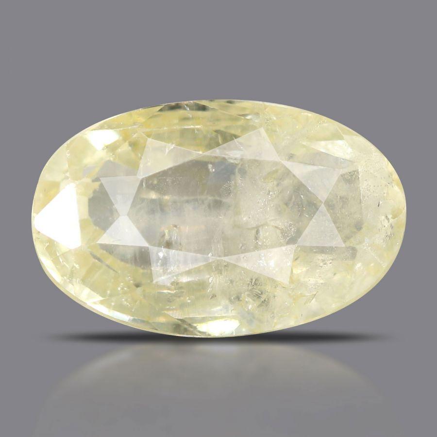 Natural Yellow Sapphire( Pukhraj) Srilanka Cts 4.84 Ratti 5.32