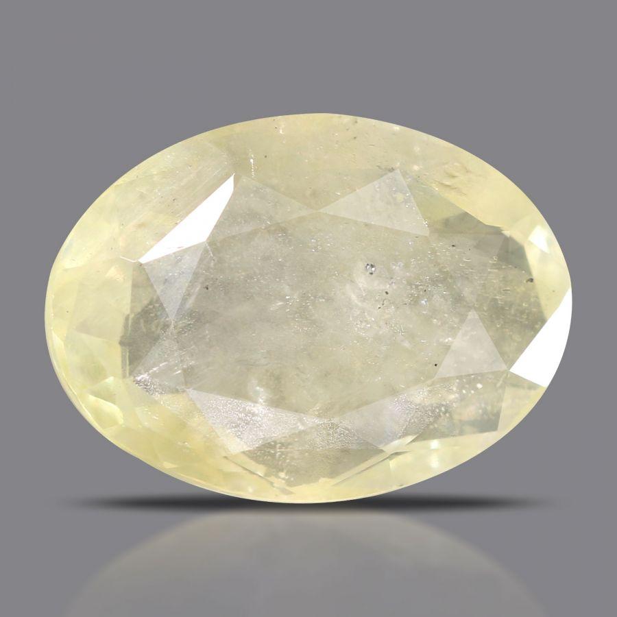 Natural Yellow Sapphire( Pukhraj) Srilanka Cts 5.48 Ratti 6.03