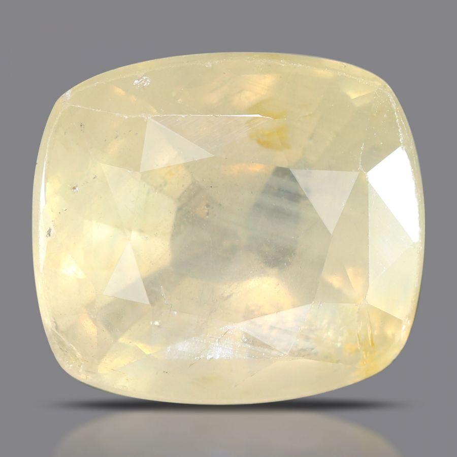 Natural Yellow Sapphire( Pukhraj) Srilanka Cts 6.98 Ratti 7.68