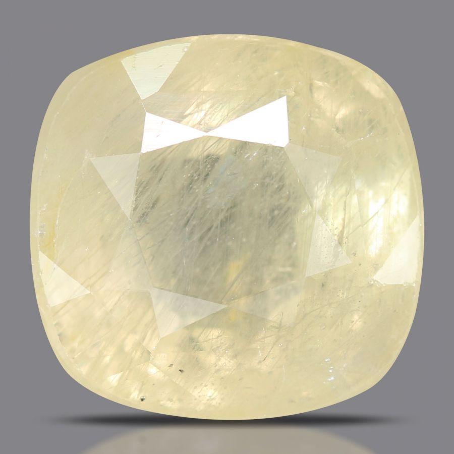 Natural Yellow Sapphire( Pukhraj) Srilanka Cts 9.93 Ratti 10.92