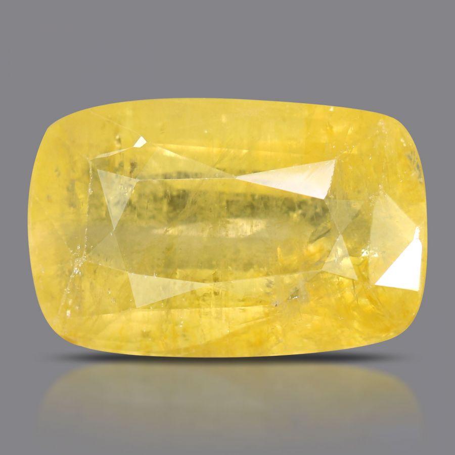 Natural Yellow Sapphire( Pukhraj) Srilanka Cts 11.36 Ratti 12.5