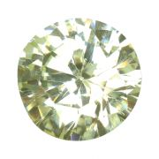 Light Green American Cubic Zirconia A.D.Cts 4.87 Ratti 5.36