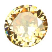 Light Brown American Cubic Zirconia A.D.Cts 9.18 Ratti 10.1
