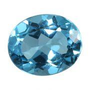 Natural Swiss Blue Topaz Cts 5.34 Ratti 5.87