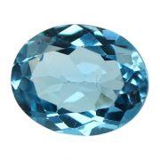 Natural Swiss Blue Topaz Cts. 5.16 Ratti 5.68