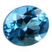 Natural Swiss Blue Topaz Cts. 5.87 Ratti 6.46