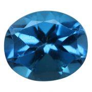 Natural Swiss Blue Topaz Cts. 6.31 Ratti 6.94