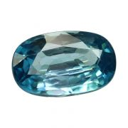 Natural Blue Zircon Cts 6.63 Ratti 7.29