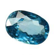 Natural Blue Zircon Cts 6.18 Ratti 6.8
