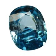 Natural Blue Zircon Cts 6.84 Ratti 7.52
