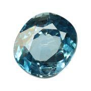 Natural Blue Zircon Cts 5.35 Ratti 5.89