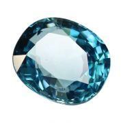Natural Blue Zircon Cts 7.52 Ratti 8.27