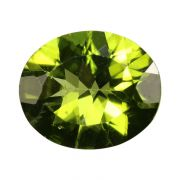 Natural Peridot Loose Gemstone ITLGJ Certified Cts 4.02 Ratti 4.42