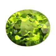 Natural Peridot Loose Gemstone ITLGJ Certified Cts 6.06 Ratti 6.67