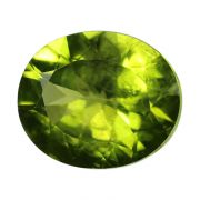 Natural Peridot Loose Gemstone ITLGJ Certified Cts 4.93 Ratti 5.42