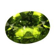 Natural Peridot Loose Gemstone ITLGJ Certified Cts 5.61 Ratti 6.17