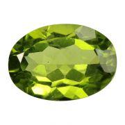 Natural Peridot Loose Gemstone ITLGJ Certified Cts 5.27 Ratti 5.8