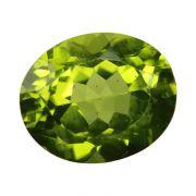 Natural Peridot Loose Gemstone ITLGJ Certified Cts 5.09 Ratti 5.6