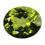 Natural Peridot Loose Gemstone ITLGJ Certified Cts 6.26 Ratti 6.89