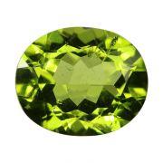 Natural Peridot Loose Gemstone ITLGJ Certified Cts 5.3 Ratti 5.83