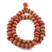 5 Mukhi Rudraksha Kantha Nepal (Jaap Mala) 54+1 Beads