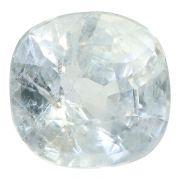 Natural White Sapphire (Safed Pukhraj) Srilanka Ceylonese Cts 9.23 Ratti 10.15