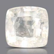 Natural White Sapphire (Safed Pukhraj) Srilanka Cts 6.31 Ratti 6.94