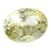 Natural Yellow Sapphire (Pukhraj) Srilanka Ceylonese Cts 8.48 Ratti 9.33