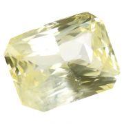 Natural Yellow Sapphire (Pukhraj) Srilanka Ceylonese Cts 12.28 Ratti 13.51