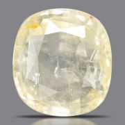 Natural Yellow Sapphire( Pukhraj) Srilanka Cts 4.2 Ratti 4.62