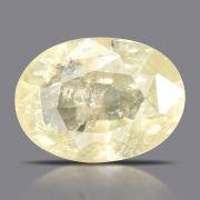 Natural Yellow Sapphire( Pukhraj) Srilanka Cts 6.03 Ratti 6.63