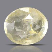 Natural Yellow Sapphire( Pukhraj) Srilanka Cts 5.49 Ratti 6.04