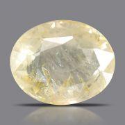Natural Yellow Sapphire( Pukhraj) Srilanka Cts 5.42 Ratti 5.96