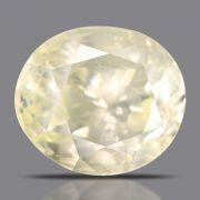 Natural Yellow Sapphire( Pukhraj) Srilanka Cts 5.45 Ratti 6