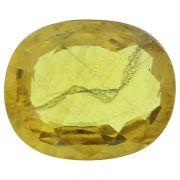 Natural Sapphire (Bi-Colour) Pitambari Sapphire Thailand Cts. 4.38 Ratti 4.82