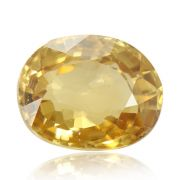 Natural Yellow Zircon AGR Lab Certified  Cts 4.28 Ratti 4.71