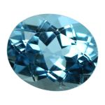 Natural Swiss Blue Topaz Cts. 5.8 Ratti 6.38