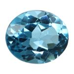 Natural Swiss Blue Topaz Cts. 5.43 Ratti 5.97
