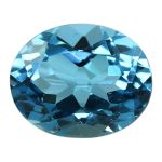 Natural Swiss Blue Topaz Cts. 5.52 Ratti 6.07