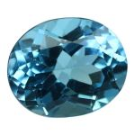 Natural Swiss Blue Topaz Cts. 5.39 Ratti 5.93