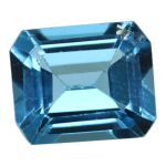 Natural Swiss Blue Topaz Cts. 5.07 Ratti 5.58