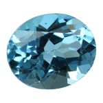 Natural Swiss Blue Topaz Cts. 5.23 Ratti 5.75
