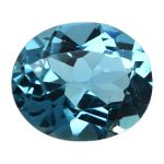 Natural Swiss Blue Topaz Cts. 4.72 Ratti 5.19