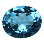 Natural Swiss Blue Topaz Cts. 5.27 Ratti 5.8