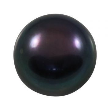 Black Fresh Water Pearl (Moti) Cts 6.51 Ratti 7.16