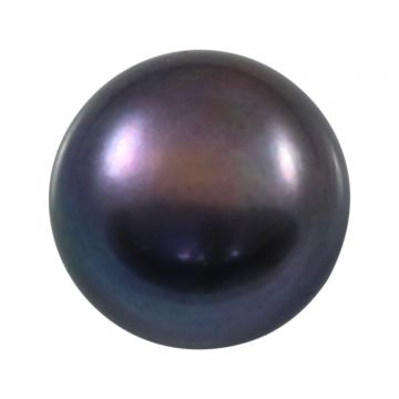 Black Fresh Water Pearl (Moti) Cts 7.41 Ratti 8.15