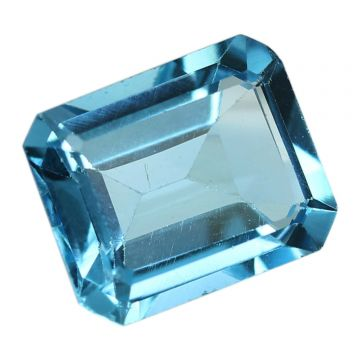 Natural Swiss Blue Topaz Cts. 5.19 Ratti 5.71