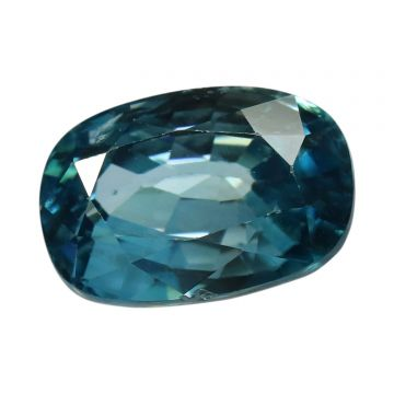 Natural Blue Zircon Cts 7.93 Ratti 8.72