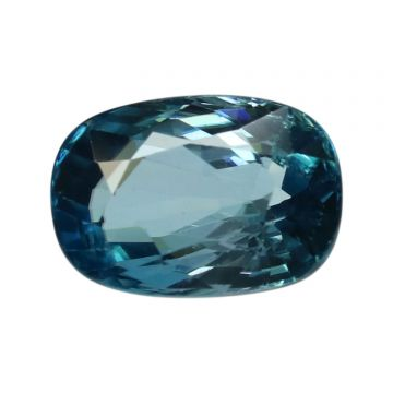 Natural Blue Zircon Cts 5.01 Ratti 5.51