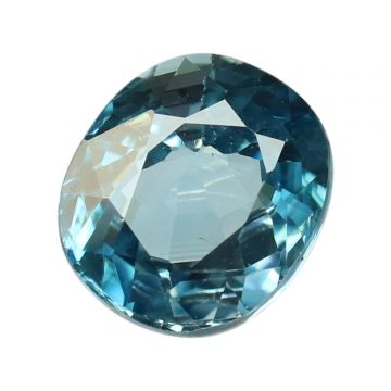 Natural Blue Zircon Cts 5.35 Ratti 5.89